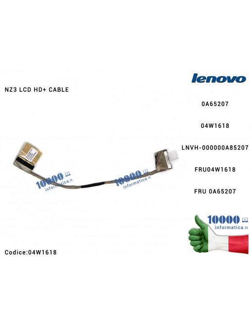 Cavo Flat LCD LENOVO ThinkPad T420 T420I T430 T430I 0A65207 FRU 04W1618 NZ3 LCD HD+ CABLE