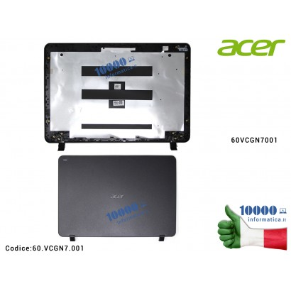 60.VCGN7.001 Cover LCD ACER TravelMate TMB117-M TMB117-MP B117 B117-M [NERO] 60VCGN7001