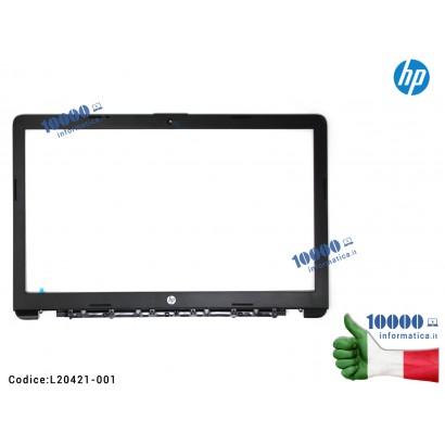 L20421-001 Cornice Display Bezel LCD HP [Versione 1] 250 G7 255 G7 256 G7 15-DA 15-DA0134NL 15-DA000 15-DB 15-DR TPN-C135 TPN...
