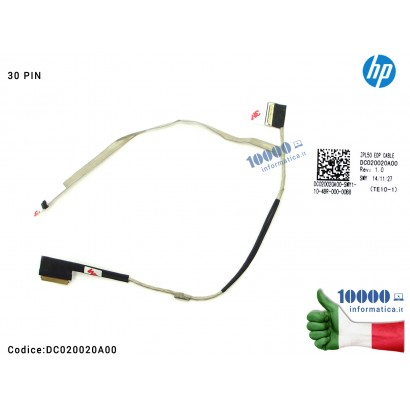 Cavo Flat LCD HP ProBook 450 G2 455 G2 (30 PIN) DC020020A00 ZPL50 EDP CABLE SIMYA