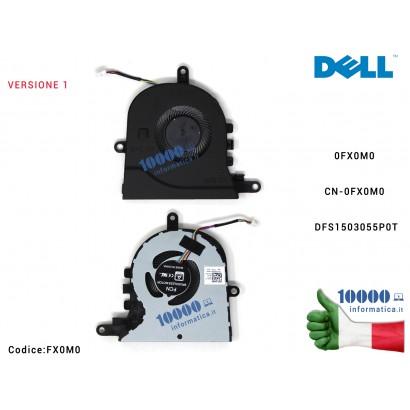 FX0M0 Ventola di Raffreddamento Fan CPU DELL Latitude 3590 L3590 E3590 15 5570 5575 0FX0M0 CN-0FX0M0 DFS1503055P0T