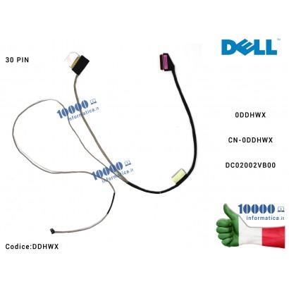 DDHWX Cavo Flat LCD DELL Inspiron 15 5570 5575 P75F (30 PIN) Latitude 3590 DC02002VB00 0DDHWX CN-0DDHWX