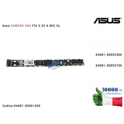 Webcam + Microfono [VGA] ASUS S451LA S451LN S551LA S551LB T300F X502C X502CA X550L X550LD X553M X553MA F553M F553MA F502C F550LD