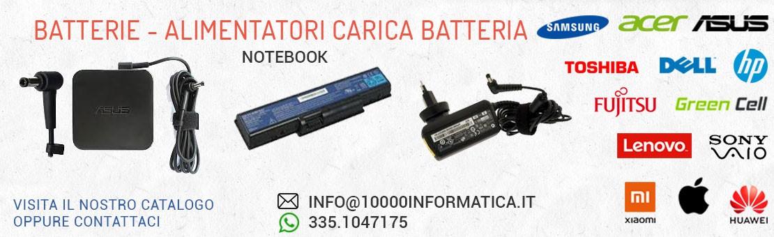 Alimentatori Batterie Notebook Smartphone e Tablet